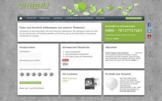 strasserauf Webseiten Screenshot
