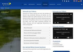 Streusalz.de Webseiten Screenshot