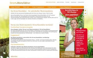 Strom.Manufaktur Webseiten Screenshot
