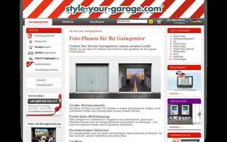 style-your-garage Webseiten Screenshot