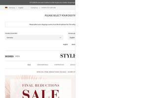 Stylebop Webseiten Screenshot