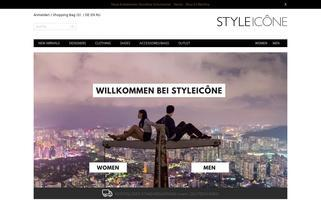 STYLEICONE Webseiten Screenshot