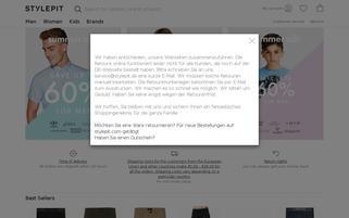 Stylepit Webseiten Screenshot