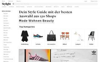 STYLIGHT Webseiten Screenshot