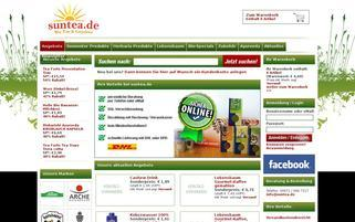 SunTea Webseiten Screenshot