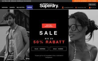Superdry Webseiten Screenshot