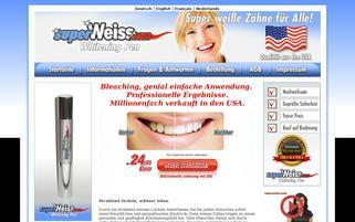 superweiss.com Webseiten Screenshot