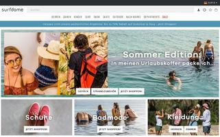 surfdome.de Webseiten Screenshot