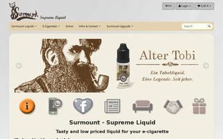 surmount.de Webseiten Screenshot