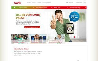 SWB Webseiten Screenshot