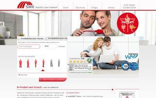 SWK Direkt Webseiten Screenshot