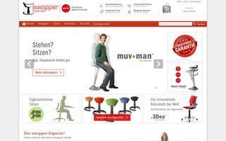 Swopper Experten Webseiten Screenshot