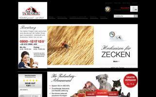 Tackenberg Webseiten Screenshot