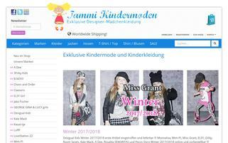 tammi-kindermoden.de Webseiten Screenshot
