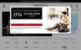 taschen-arena.de Webseiten Screenshot