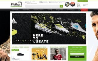 Teamsport Philipp Webseiten Screenshot