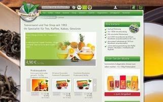 Teaworld Webseiten Screenshot