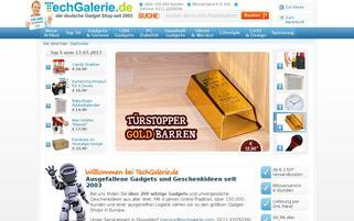 Tech Galerie Webseiten Screenshot