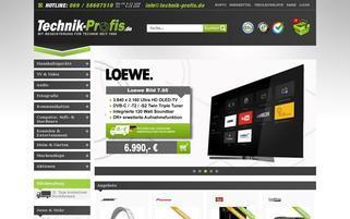 Technik-Profis Webseiten Screenshot