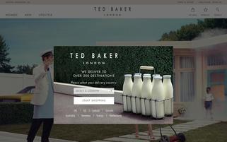 Ted Baker Webseiten Screenshot