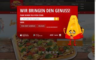 Tele Pizza Webseiten Screenshot