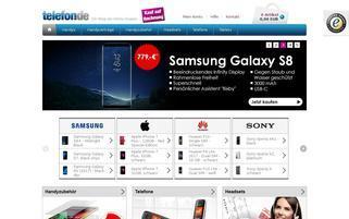 Telefon.de Webseiten Screenshot