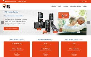 telefonanschluss.de Webseiten Screenshot