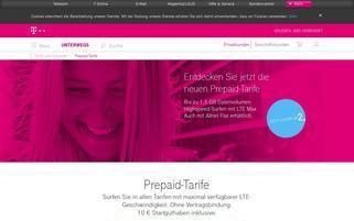 Telekom Xtra Card Webseiten Screenshot