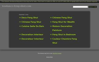 tendance-feng-shui.com Webseiten Screenshot