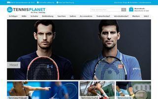 TennisPlanet Webseiten Screenshot
