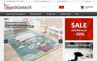 Teppichcenter24 Webseiten Screenshot