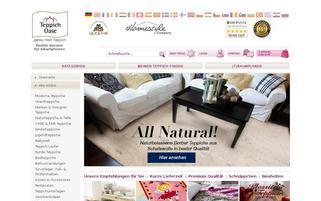 teppichdeal.de Webseiten Screenshot