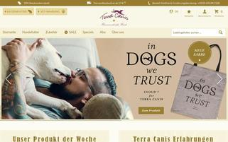 Terra Canis Webseiten Screenshot