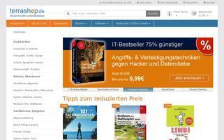 terrashop.de Webseiten Screenshot