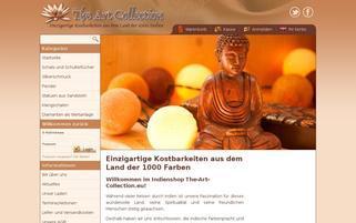 The Art Collection Webseiten Screenshot