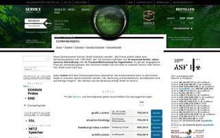 The Nutrition Shop Webseiten Screenshot