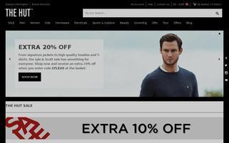 TheHut.com Webseiten Screenshot