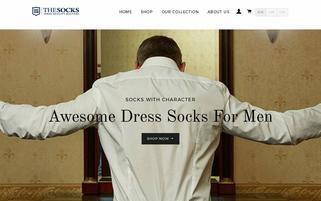 thesocks.com Webseiten Screenshot