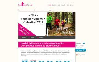 thoni mara Webseiten Screenshot