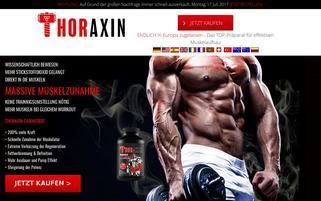 thoraxin.com Webseiten Screenshot