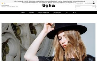 tigha Webseiten Screenshot