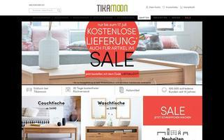 Tikamoon Webseiten Screenshot