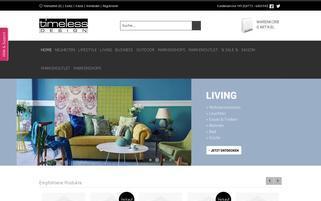 Timeless Design Webseiten Screenshot