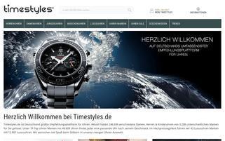 timestyles Webseiten Screenshot