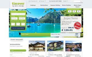 Tiscover Webseiten Screenshot