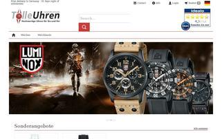 Tolle-Uhren.de Webseiten Screenshot