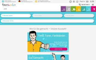 Tonermacher Webseiten Screenshot