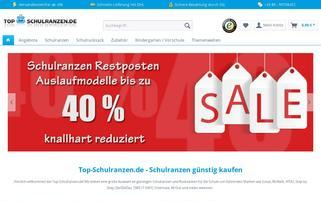 Top Schulranzen Webseiten Screenshot