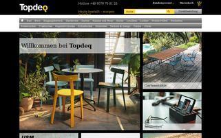 Topdeq Webseiten Screenshot