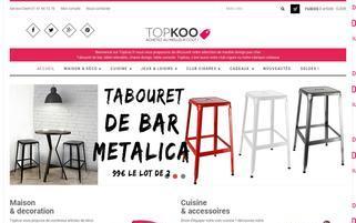 topkoo.fr Webseiten Screenshot